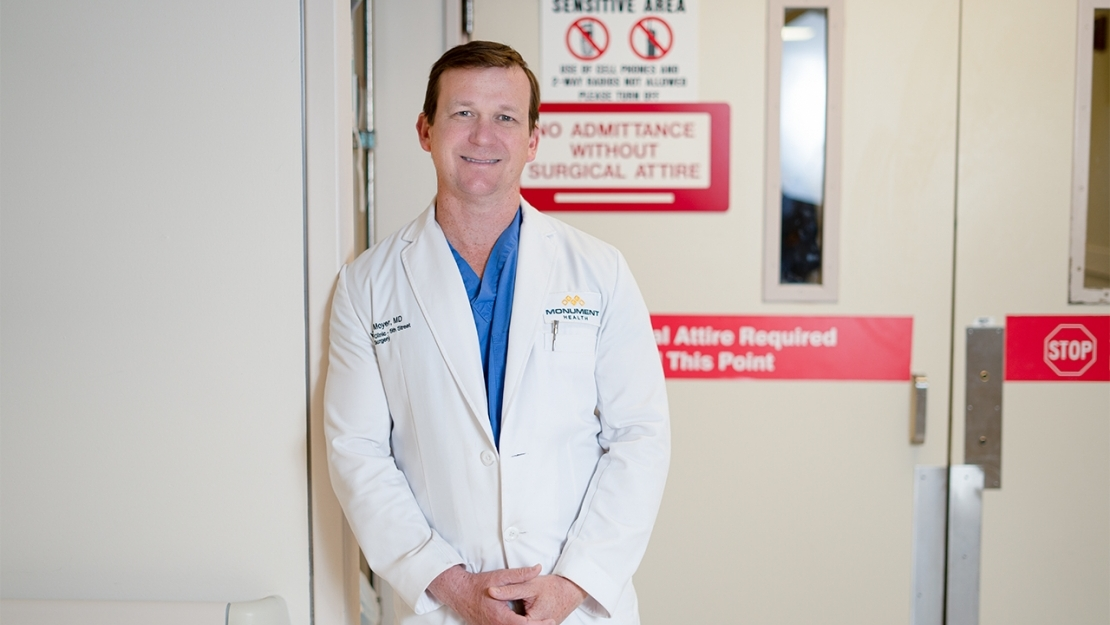 Physician Profile: Hunter Moyer, M.D. Featured Image